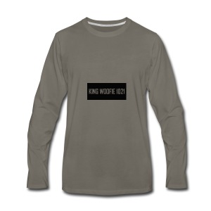 Woofie Logo - Men's Premium Long Sleeve T-Shirt
