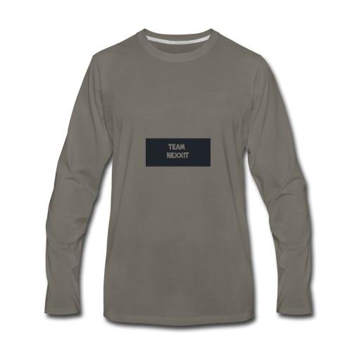 Team Nexxit Logo - Men's Premium Long Sleeve T-Shirt