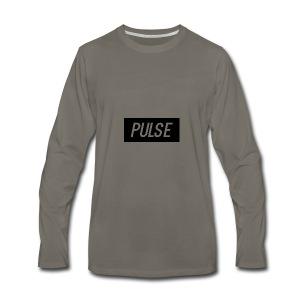 Pulse box logo - Men's Premium Long Sleeve T-Shirt
