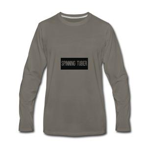Spinning Tuber's Design - Men's Premium Long Sleeve T-Shirt