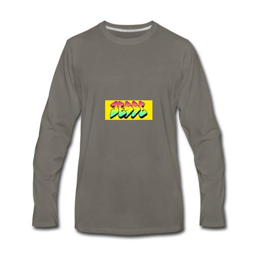 jesses logo - Men's Premium Long Sleeve T-Shirt