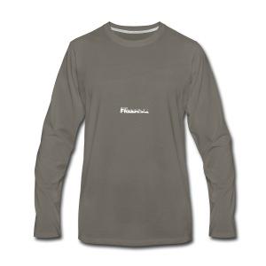 GK Freeride White Logo - Men's Premium Long Sleeve T-Shirt