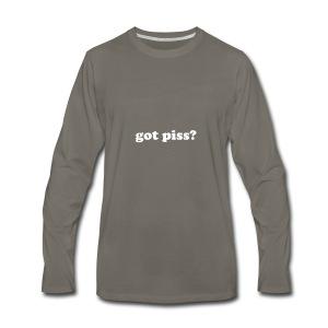 gotpiss - Men's Premium Long Sleeve T-Shirt