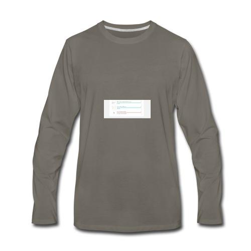 bulk_upload - Men's Premium Long Sleeve T-Shirt