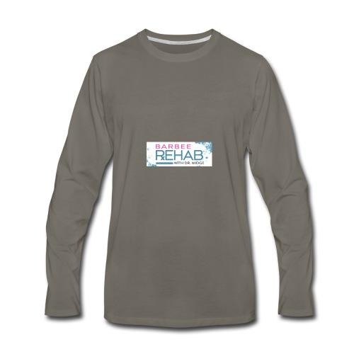 barbeerehabpink - Men's Premium Long Sleeve T-Shirt