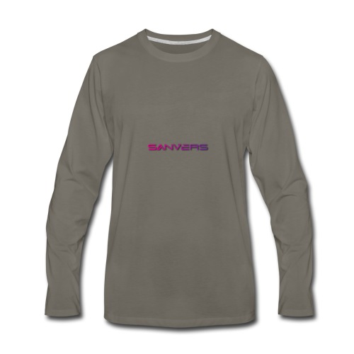 Sanvers Logo - Men's Premium Long Sleeve T-Shirt