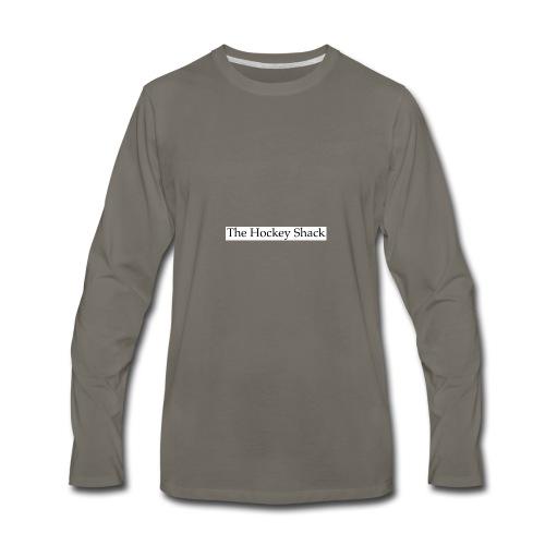 The Hockey Shack Logo - Men's Premium Long Sleeve T-Shirt