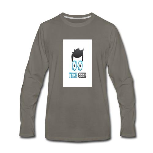 TECH-GEEK T-SHIRT - Men's Premium Long Sleeve T-Shirt