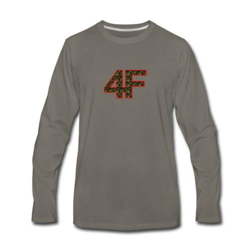 4-F Camouflage - Men's Premium Long Sleeve T-Shirt