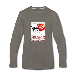 Brady Allaby Vlogs - Men's Premium Long Sleeve T-Shirt