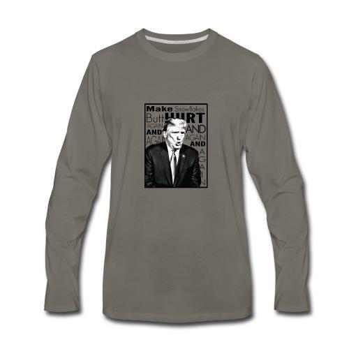 Trump Butthurt Snowflakes - Men's Premium Long Sleeve T-Shirt