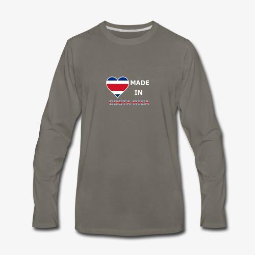 Costa Rica 2 - Men's Premium Long Sleeve T-Shirt