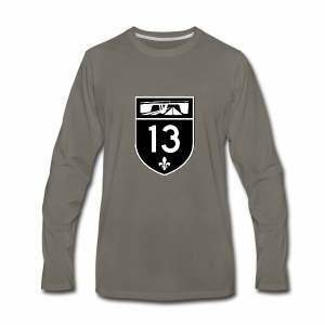 Highway 13 - Men's Premium Long Sleeve T-Shirt