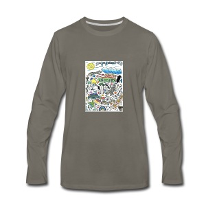 Los Angeles - Men's Premium Long Sleeve T-Shirt