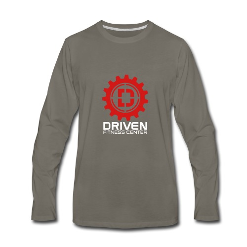 Stacked Logo - Men's Premium Long Sleeve T-Shirt