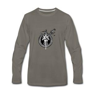 logo knight - Men's Premium Long Sleeve T-Shirt