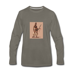 Female Warrior - Men's Premium Long Sleeve T-Shirt