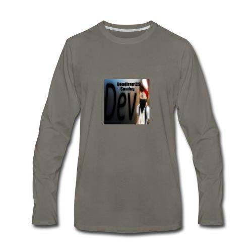 Deadiron123 Gaming Dev Phone case. - Men's Premium Long Sleeve T-Shirt