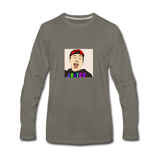 JustCk self drawn by Dazadingo - Men's Premium Long Sleeve T-Shirt