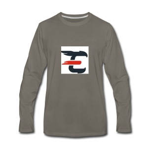 exxendynce logo - Men's Premium Long Sleeve T-Shirt