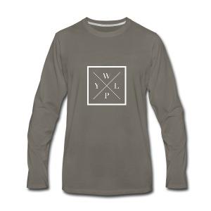 logo_w - Men's Premium Long Sleeve T-Shirt