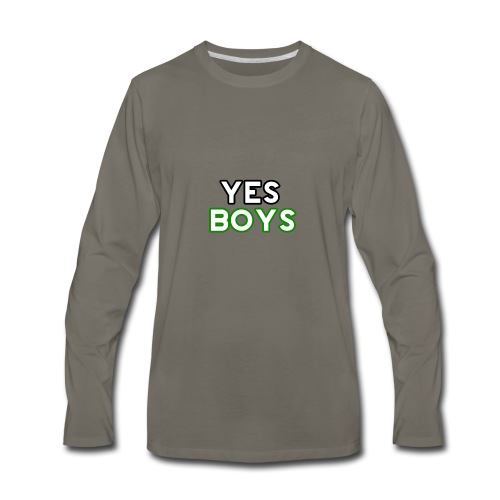 MERCHANDISE Yes Boys Campaign - Men's Premium Long Sleeve T-Shirt