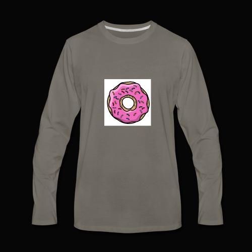 Doughnut Style - Men's Premium Long Sleeve T-Shirt