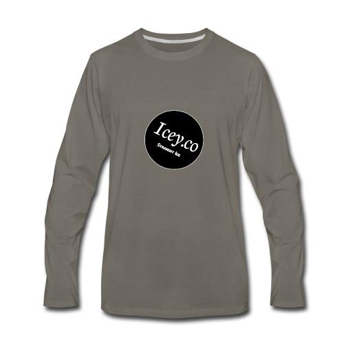 Icey.co straight ice range - Men's Premium Long Sleeve T-Shirt