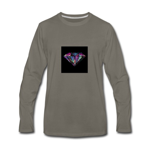 Diamondfashion - Men's Premium Long Sleeve T-Shirt