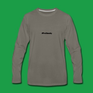 #ProfSwanky - Men's Premium Long Sleeve T-Shirt