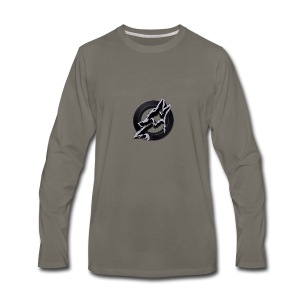 Dusk Circular Logo - Men's Premium Long Sleeve T-Shirt