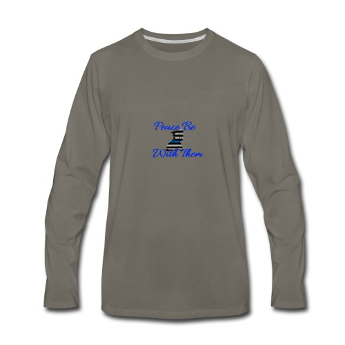 Peace Be With Them - Men's Premium Long Sleeve T-Shirt