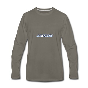 JAWKICKS LOGO APPAREL - Men's Premium Long Sleeve T-Shirt