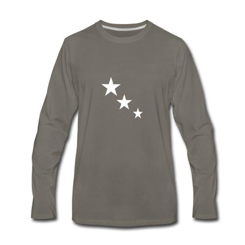 3 STARS - Men's Premium Long Sleeve T-Shirt