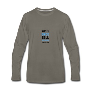Write Once Sell Anywhere - Men's Premium Long Sleeve T-Shirt
