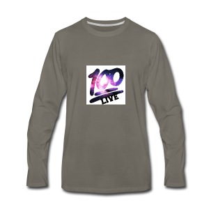 living 100 - Men's Premium Long Sleeve T-Shirt