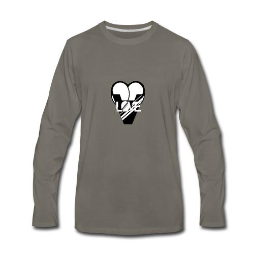 LOVE - Men's Premium Long Sleeve T-Shirt