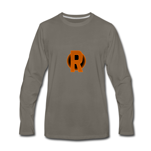 cmdr rithwald logo - Men's Premium Long Sleeve T-Shirt