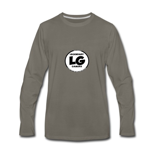 legendarygamers logo - Men's Premium Long Sleeve T-Shirt