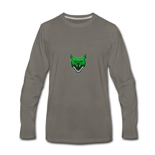 Zarah Mascot - Men's Premium Long Sleeve T-Shirt