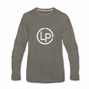 RoundWhite1 x1 - Men's Premium Long Sleeve T-Shirt