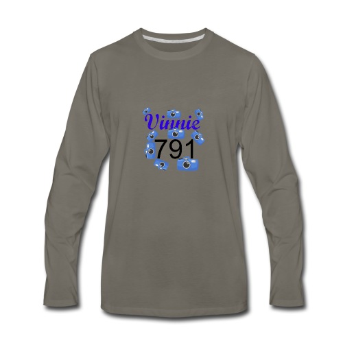 Vinnie 791 - Men's Premium Long Sleeve T-Shirt