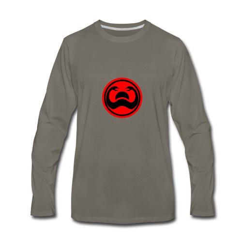 Conan Snakes Over a Setting Sun - Men's Premium Long Sleeve T-Shirt