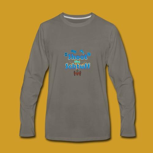 Official Shoot The Schtuff Logo - Men's Premium Long Sleeve T-Shirt