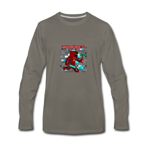 Yobro5604 icon for youtube channel - Men's Premium Long Sleeve T-Shirt