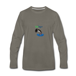 Pixel Sea Lamprey - Men's Premium Long Sleeve T-Shirt