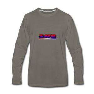 SAFR Logo - Men's Premium Long Sleeve T-Shirt