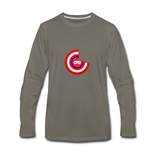 Captain Munch - Men's Premium Long Sleeve T-Shirt