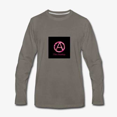 Ora Smokey / pink camo - Men's Premium Long Sleeve T-Shirt