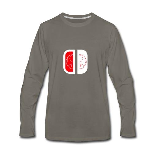 Nintendo Switch Mario Shroom - Men's Premium Long Sleeve T-Shirt